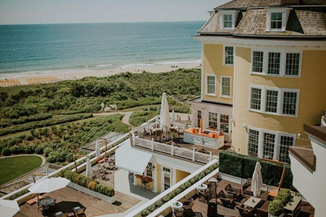 A view from above the Ocean House in Rhode Island. (Photo: <span>Brooke Brady</span>)