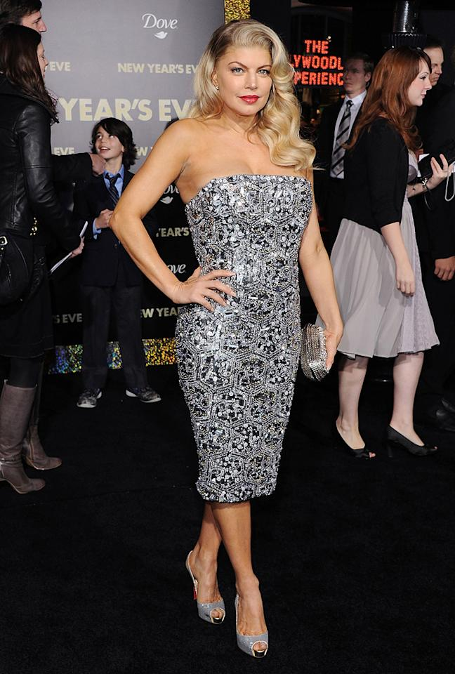 "<a href=""http://movies.yahoo.com/movie/contributor/1809164197"">Fergie</a> at the Los Angeles premiere of <a href=""http://movies.yahoo.com/movie/1810219047/info"">New Year's Eve</a> on December 5, 2011."