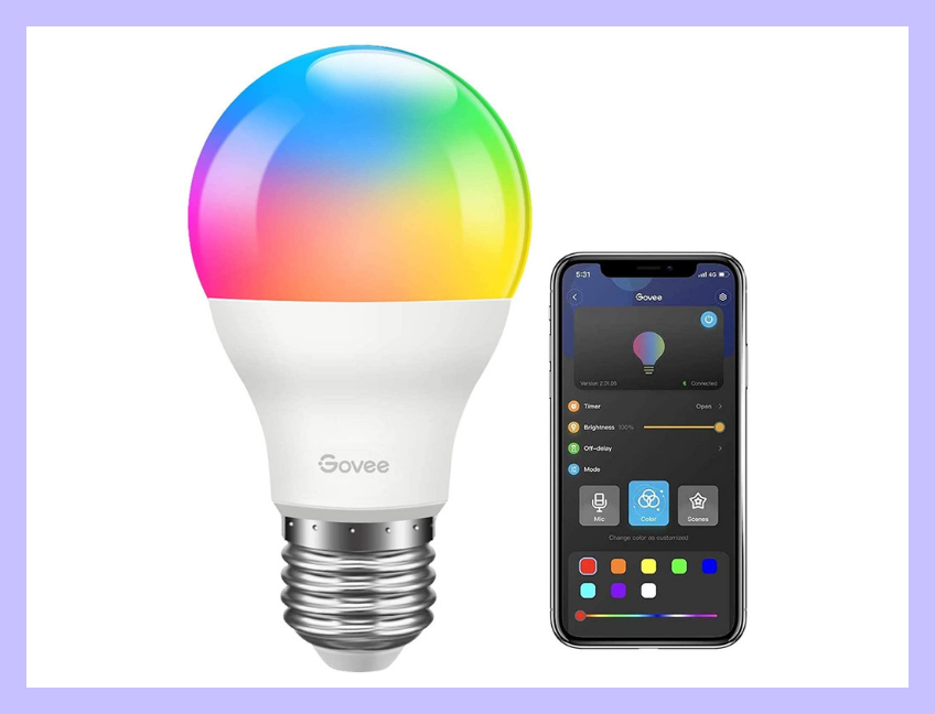 Control your lights with your smartphone! (Photo: Amazon)