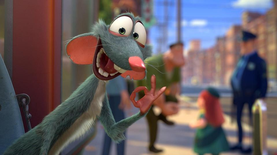"""<p><strong>Netflix's Description:</strong> """"When his grouchy attitude gets him kicked out of the park, Surly the squirrel hatches a plan to rob Maury's Nut Shop to stock up for winter.""""</p> <p><a href=""""https://www.netflix.com/title/70286697"""" class=""""link rapid-noclick-resp"""" rel=""""nofollow noopener"""" target=""""_blank"""" data-ylk=""""slk:Stream The Nut Job on Netflix!"""">Stream <strong>The Nut Job</strong> on Netflix!</a></p>"""