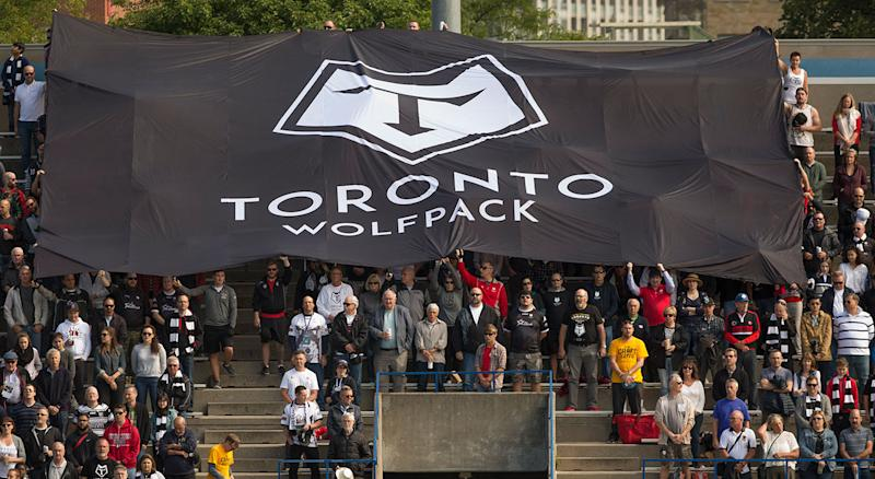 The Toronto Wolfpack are one win away reaching the top level of Rugby League. (Rick Madonik/Toronto Star via Getty Images)
