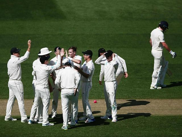 Southee cleaned up the rest including the wickets of Bairstow, Ali and Broad (Getty)