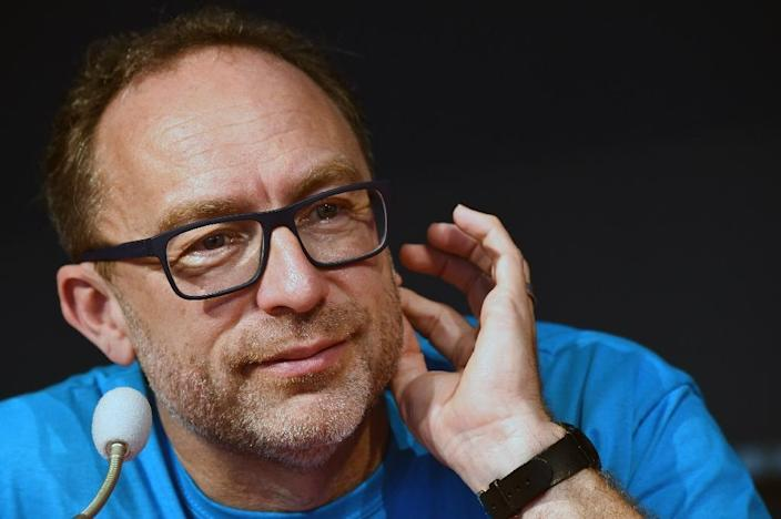 Wikipedia co-founder Jimmy Wales (AFP Photo/GIUSEPPE CACACE)