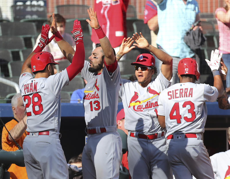 The St. Louis Cardinals are back. (AP)