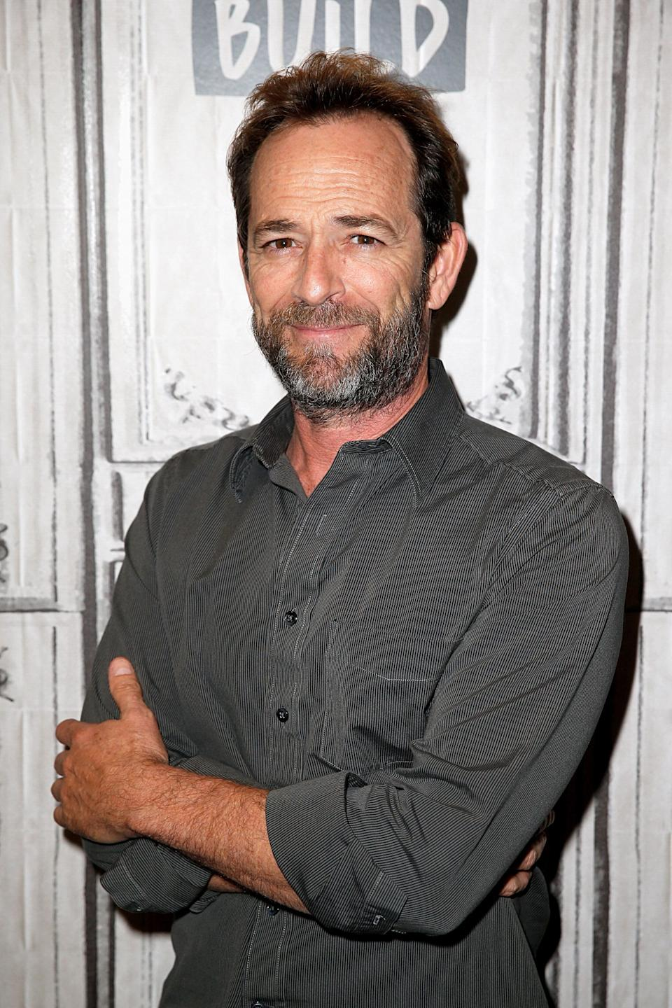 Luke Perry. Image via Getty Images.