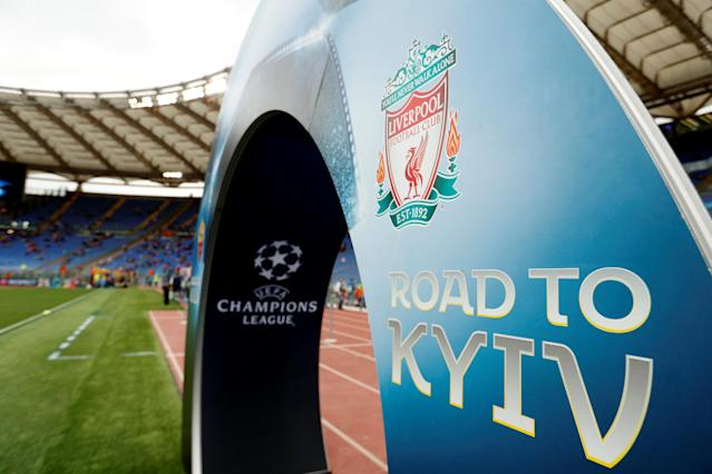 Soccer Football - Champions League Semi Final Second Leg - AS Roma v Liverpool - Stadio Olimpico, Rome, Italy - May 2, 2018 General view inside the stadium before the match Action Images via Reuters/John Sibley