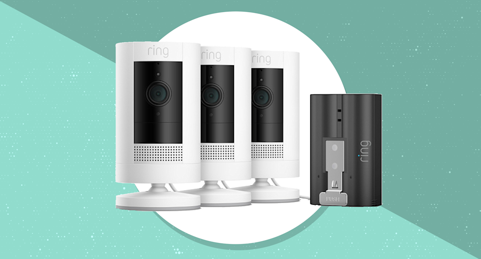 Protect your home while saving big on these Ring Stick-Up Cams. (Photo: Ring)