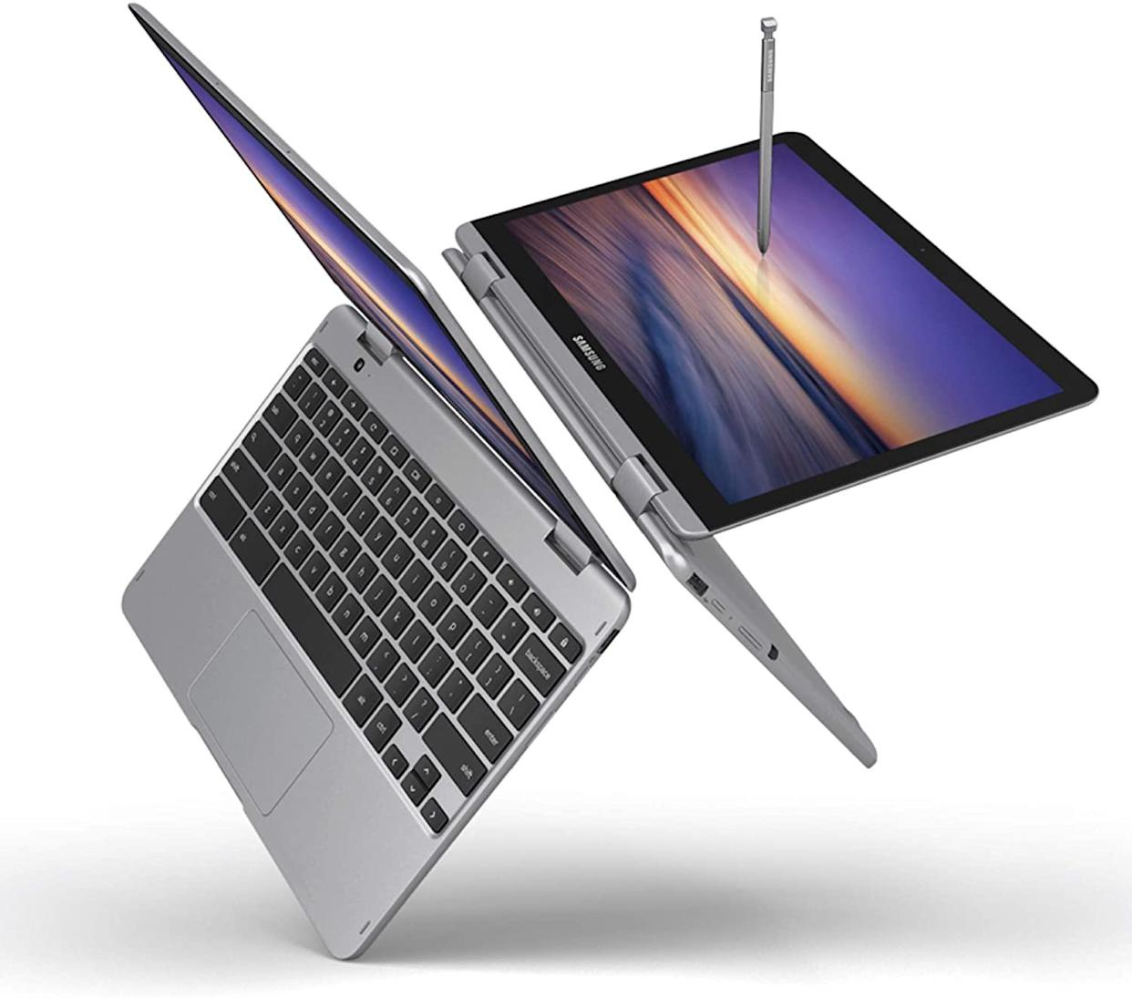 This Samsung Chromebook collapses into a tablet. (Photo: Amazon)