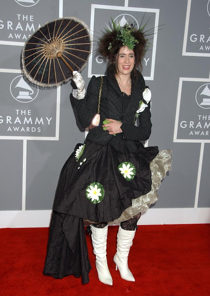 "Imogen Heap, nominee Best New Artist and Best Song Written For Motion Picture, Television Or Other Visual Media for ""Can't Take It In"" (Photo by Gregg DeGuire/WireImage)"