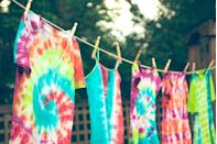 """<p>Chances are, you probably have a few boring white T-shirts laying around. On your next date night, turn them into something new and exciting—<a href=""""https://www.oprahdaily.com/style/a33417416/tie-dye-trend/"""" rel=""""nofollow noopener"""" target=""""_blank"""" data-ylk=""""slk:and very on trend"""" class=""""link rapid-noclick-resp"""">and very on trend</a>—with an <a href=""""https://www.amazon.com/Tulip-31665-Fabric-Moody-Blues/dp/B00BMM15ZY/ref=sr_1_45?dchild=1&keywords=tie+dye+kit&qid=1597346019&s=arts-crafts&sr=1-45&tag=syn-yahoo-20&ascsubtag=%5Bartid%7C10072.g.28182090%5Bsrc%7Cyahoo-us"""" rel=""""nofollow noopener"""" target=""""_blank"""" data-ylk=""""slk:easy-to-use tie dye kit"""" class=""""link rapid-noclick-resp"""">easy-to-use tie dye kit</a>. Not only will you walk away from the date with a stylish keepsake, but you might also feel happier. That's because new experiences can activate the brain's reward system, releasing powerful neurochemicals related to pleasure.</p>"""