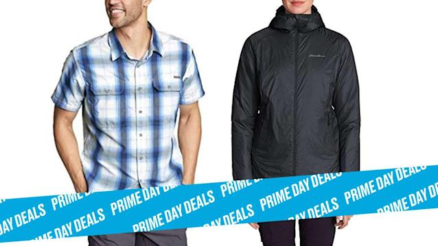 Photo Illustration by Elizabeth Brockway/The Daily Beast * Up to 40% off Eddie Bauer. * Styles for men and women, all styles under $100. * Shop the rest of our other Prime Day deal picks here. Not a Prime member yet? Sign up here.Outfitting yourself for the great outdoors takes finding the right brand that knows what it's doing. Eddie Bauer is that brand and it's all on sale during Prime Day. Get deals on waterproof jackets, backpacks, shoes, and more. With up to 40% off gear for men and women, you'll be hitting the hills in no time.| Get it on Amazon >Let Scouted guide you to the best Prime Day deals. Shop Here >Scouted is internet shopping with a pulse. Follow us on Twitter and sign up for our newsletter for even more recommendations and exclusive content. Please note that if you buy something featured in one of our posts, The Daily Beast may collect a share of sales.Read more at The Daily Beast.Get our top stories in your inbox every day. Sign up now!Daily Beast Membership: Beast Inside goes deeper on the stories that matter to you. Learn more.