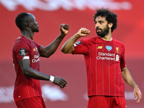 Liverpool are withing touching distance of the title (2020 Pool)