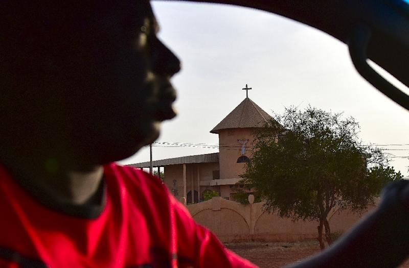 It was the first attack on a church in Burkina Faso since the jihadist violence began (AFP Photo/ISSOUF SANOGO)