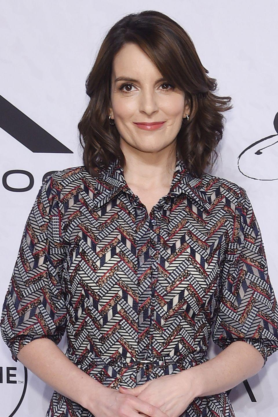 """<p>The comedic actress recently revealed to David Letterman that she didn't <a href=""""https://www.huffingtonpost.com/2009/10/15/tina-fey-24-year-old-virg_n_321807.html"""" rel=""""nofollow noopener"""" target=""""_blank"""" data-ylk=""""slk:lose her virginity until the age of 24"""" class=""""link rapid-noclick-resp"""">lose her virginity until the age of 24</a> after marrying her husband, Jeff Richmond. The late show host was reading off a couple of names of celebrities who hadn't had sex before marriage, and when he brought her name up she said, """"[I] couldn't give it away. That's just good, Christian values, or, being homely.""""</p>"""