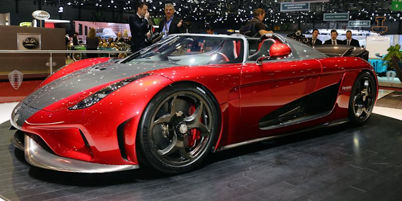 Koenigsegg currently has a four year waiting list for Abc motor credit gilchrist rd