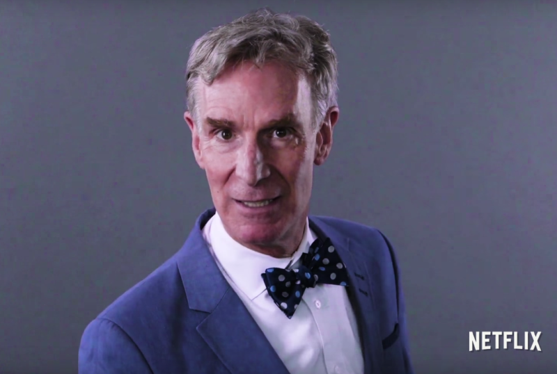 The first trailer for Bill Nye's Netflix show will have you shouting BILL BILL BILL!