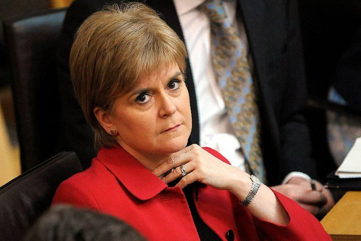 Nicola Sturgeon wants a second Scottish independence referendum. (Andy Buchanan - WPA Pool /Getty Images)