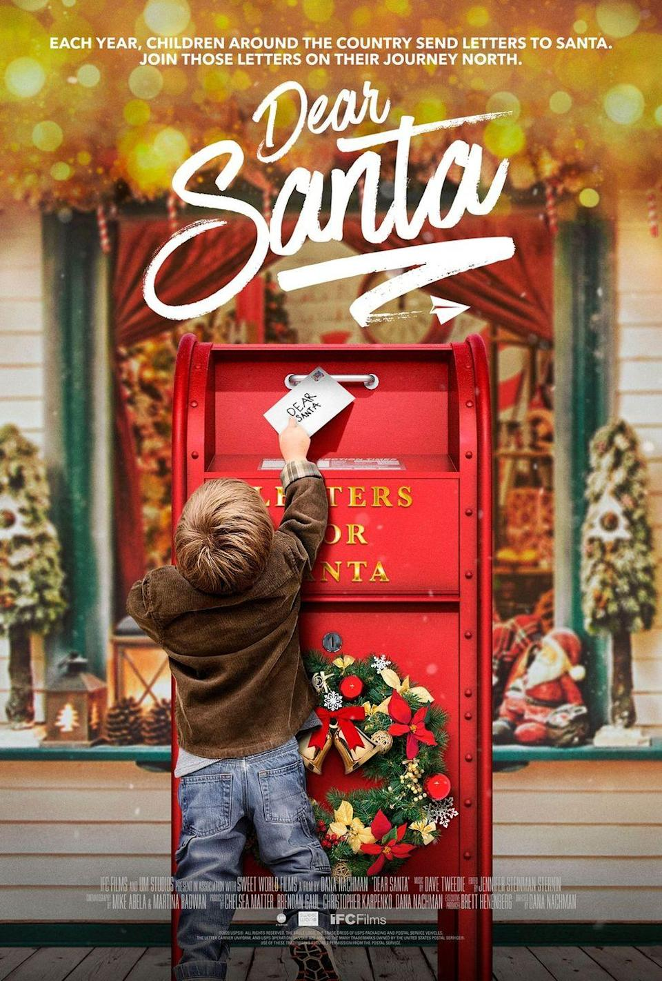 """<p>This sweet documentary highlights the 100-year-old 'Operation Santa' program operated by the US Postal Service. Through this program, people can """"adopt"""" letters that children have written to Santa and make a child's Christmas wish come true. The film focuses on several 'Operation Santa' centers throughout the country. It's sure to give you all the warm fuzzy feelings. </p><p><a class=""""link rapid-noclick-resp"""" href=""""https://go.redirectingat.com?id=74968X1596630&url=https%3A%2F%2Fwww.hulu.com%2Fmovie%2Fdear-santa-3d5e6f8e-ac91-4708-bba8-23635414a2b1&sref=https%3A%2F%2Fwww.womansday.com%2Flife%2Fentertainment%2Fg29702471%2Fnew-christmas-movies%2F"""" rel=""""nofollow noopener"""" target=""""_blank"""" data-ylk=""""slk:STREAM NOW"""">STREAM NOW</a></p>"""