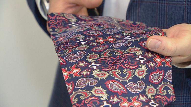 Cravat that 'just screams personality' may revitalize men's fashion, designer says