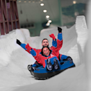 """For those who have been to Ski Dubai in the UAE, picture a similar space, only now you're at the Mall of Egypt in Cairo. <a href=""""https://skiegy.com/about/"""" rel=""""nofollow noopener"""" target=""""_blank"""" data-ylk=""""slk:Ski Egypt"""" class=""""link rapid-noclick-resp"""">Ski Egypt</a> is the first indoor ski resort in Africa and has 236,806 square feet of winter wonderland fun. In addition to a mini version of skiing, there's bobsledding, tubing, and even snow penguins. All in all, it's perfect for the whole family and the ultimate escape from Egypt's desert sun."""