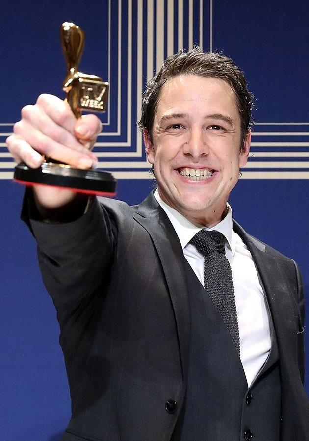 Sam dedicated his Gold Logie win to Connie this year. Source: Getty
