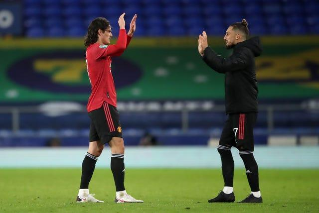 Edinson Cavani and Alex Telles were among Manchester United's signings during the last summer window