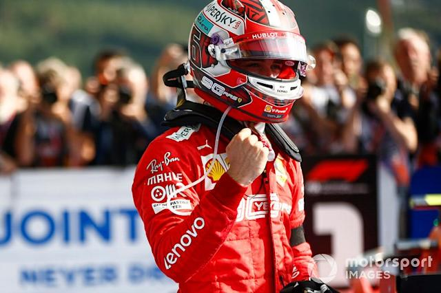 """Charles Leclerc (2 victorias) <span class=""""copyright"""">Andy Hone / Motorsport Images</span>"""
