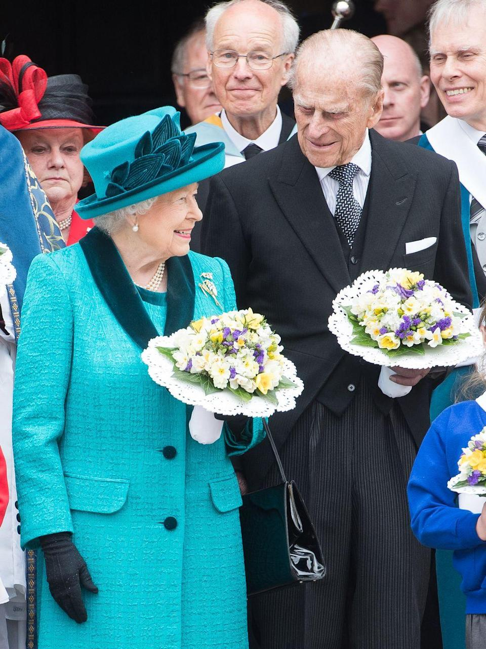 <p>Prince Philip celebrated his 70th wedding anniversary with the Queen, making them the first monarch and consort to reach a platinum wedding anniversary. The couple have eight grandchildren and 10 great-grandchildren between them.</p>