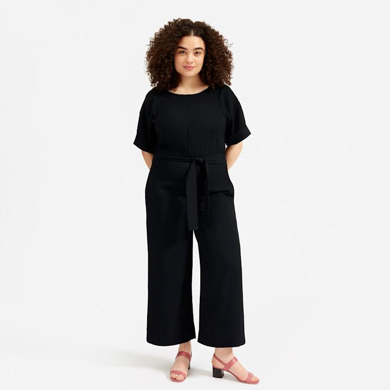 The Japanese GoWeave Short-Sleeve Jumpsuit