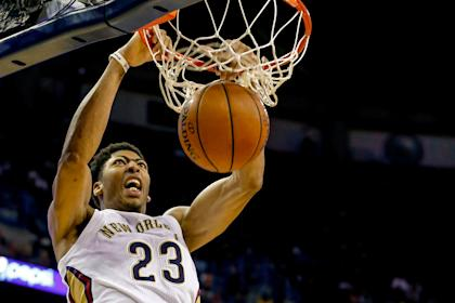 Anthony Davis ranks second in the NBA in scoring behind Kobe Bryant. (USA Today)