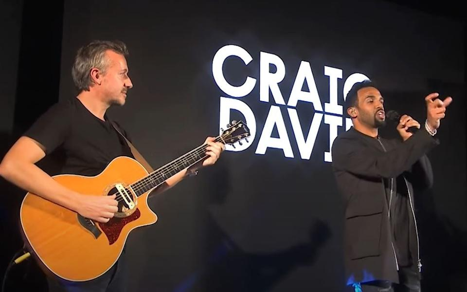 Early days: Fraser T Smith began working with Craig David
