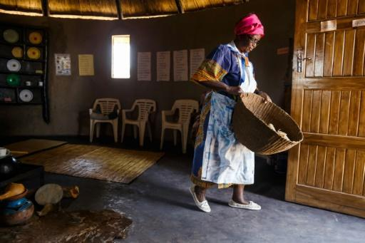 Zimbabwe poet, storyteller and retired schoolteacher, Hatifari Munongi has created a replica traditional homestead in her backyard in a Harare suburb as a way to help preserve local culture