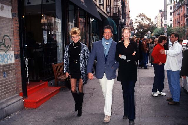 Ivana Trump, Roffredo Gaetani, and Ivanka Trump (Photo: Arnaldo Magnani/Getty Images)
