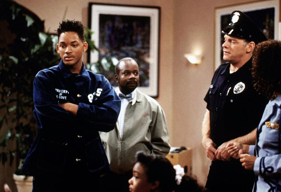 'The Fresh Prince of Bel-Air' wrestled with real-world racial issues during its six-season run (Photo: Warner Bros./ Courtesy: Everett Collection.)
