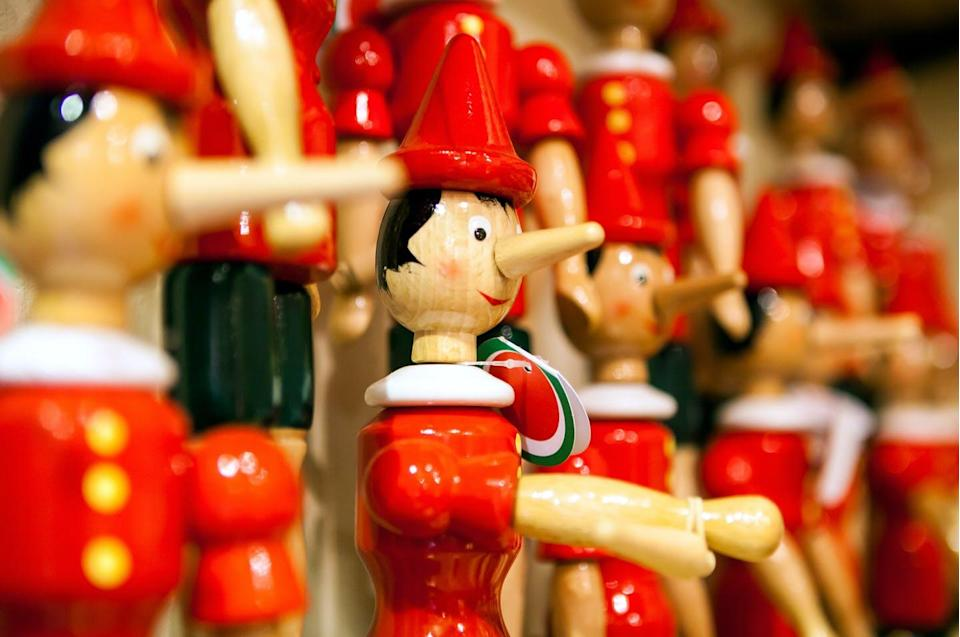 "<span class=""attribution""><a class=""link rapid-noclick-resp"" href=""https://www.shutterstock.com/es/image-photo/traditional-wooden-pinocchio-toy-italy-264869624"" rel=""nofollow noopener"" target=""_blank"" data-ylk=""slk:Shutterstock / luckyraccoon"">Shutterstock / luckyraccoon</a></span>"