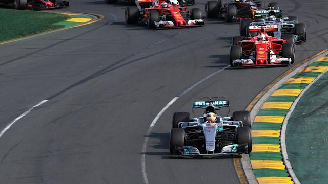 Having lost out in strategy to Sebastian Vettel in Melbourne, Lewis Hamilton aims to battle the German in close quarters on track this year.