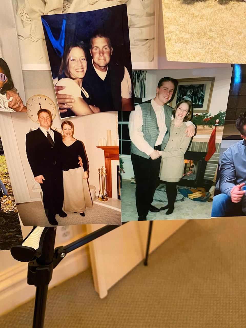 Photo collage of Ben Price, 48, and wife Jennifer Price, 45.