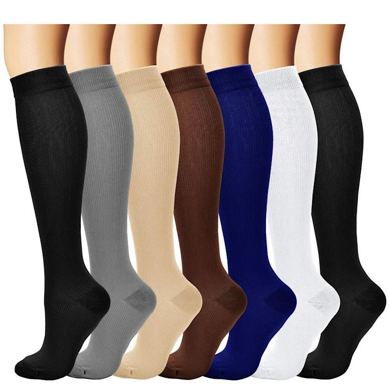Laite Hebe Compression Socks. (Photo: Amazon)