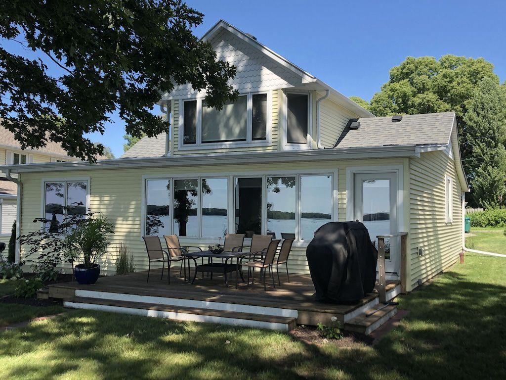 Madison-Area Lakefront Home