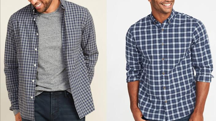 Best gifts for teen boys: Old Navy plaid shirt