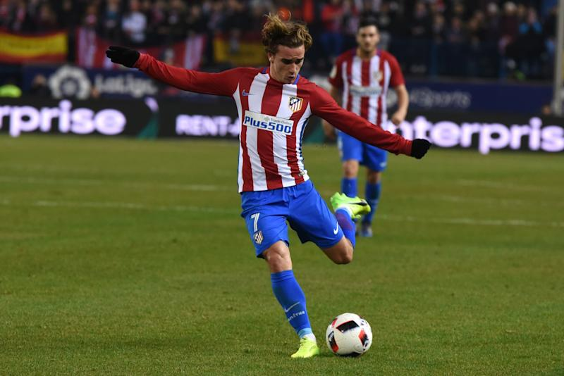 Antoine Griezmann has been linked with a move to Old Trafford