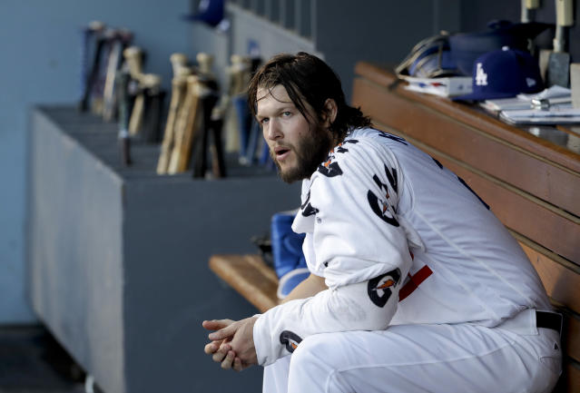 Clayton Kershaw was happy to see Lorenzo Cain's five-year, $80 million deal with Milwaukee on Thursday. (AP)