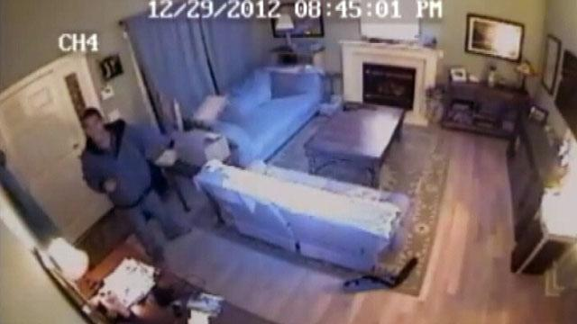 NC Home Robbery Caught on Video