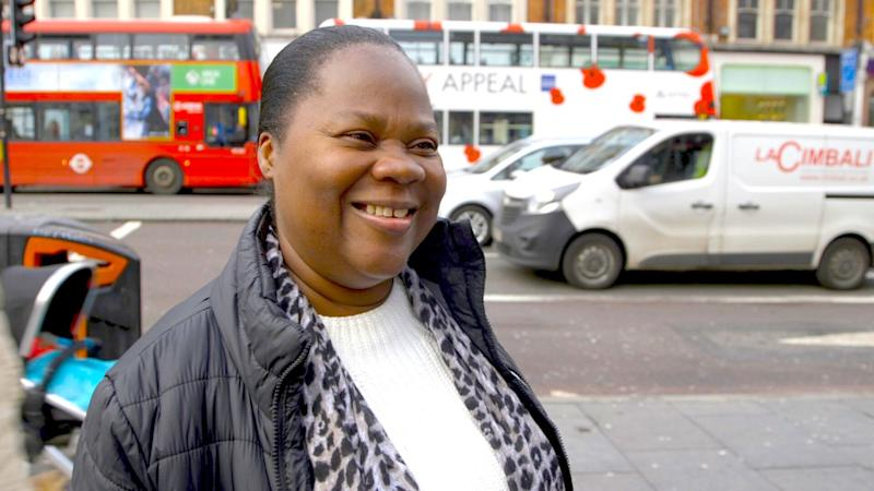 'People made their voice heard through the ballot boxes': Christiana in Brixton. (Photo: HuffPost UK)