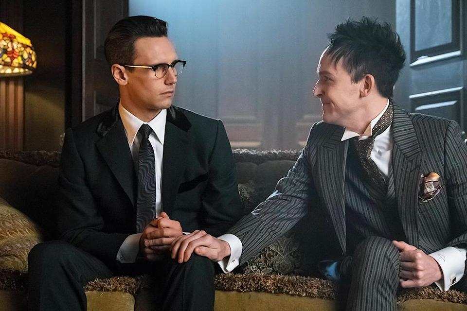 <p>The story I'm proudest of is from this season (Season 3). We were able to take a popular character from the canon of DC Comics, Penguin, and tell a personal, real, heartbreaking love story between him and another male character, Edward Nygma. (Credit: Jeff Neumann/FOX) </p>