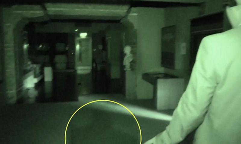 ghost on camera