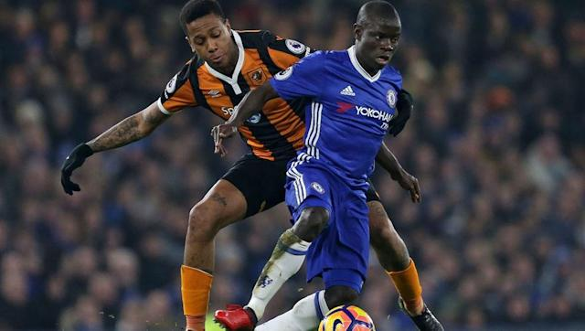 <p>In defensive midfield it can only be N'Golo Kante. It is testimony to his ability that Leicester have struggled this season whilst Chelsea have flourished. He may be a defensive player but he has the impact of a 20-goal striker on a sides league position. </p> <br><p>He is everywhere, and his tireless engine allows Chelsea's attacking players to focus on hurting the opposition, rather than tracking runs. The Frenchman surely the favourite for the Player of the Year award.</p>