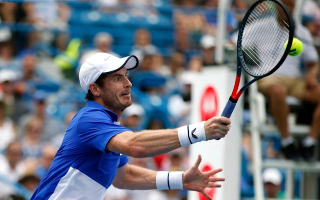 Andy Murray has won six of the seven matches he has played with Feliciano Lopez this summer - FR171284 AP