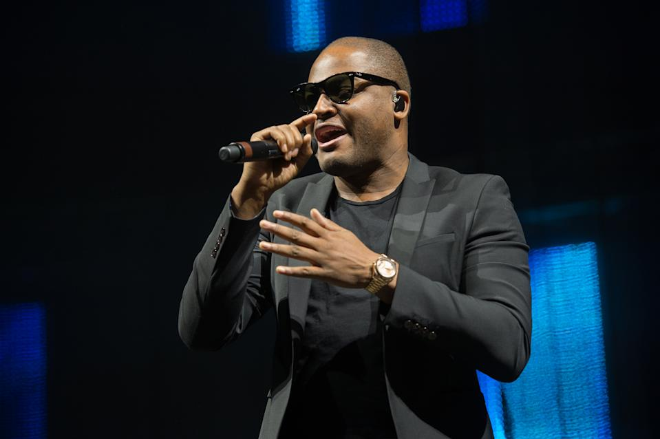 Taio Cruz performs on stage during Radio City Summer Live 2015 at Echo Arena on July 18, 2015 in Liverpool, England.  (Photo by Ollie Millington/Redferns)