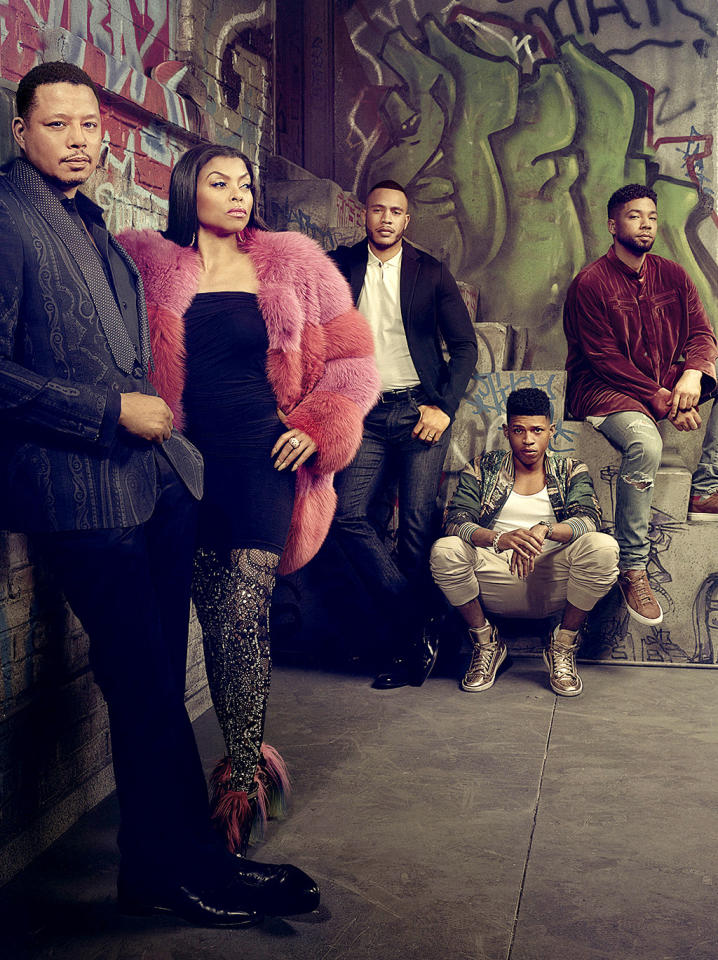 """<p><b>This Season's Theme:</b> """"The battle for the soul of Empire,"""" says executive producer/showrunner Ilene Chaiken. <br /><br /><b>Where We Left Off: </b> Season 2 left us with the big-picture twist that Cookie (Taraji P. Henson) was now just as powerful as Lucious (Terrence Howard) within Empire Entertainment, but in more alarming news, Jamal (Jussie Smollett) was accidentally shot by Freda Gatz (Bre-z) on a red carpet. Oh, and either Anika (Grace Gealey) or Rhonda (Kaitlin Doubleday) was thrown off a hotel roof. <br /><br /><b>Coming Up: </b> """"Cookie has a fabulous story this season,"""" Chaiken says. """"The story of trying to move on from Lucious that <i>might</i> well involve a new man."""" That new man? Guest star Taye Diggs. Meanwhile Cookie will still have to deal with the fact that her nemesis Anika is now married to her ex-husband Lucious. """"Somehow Cookie is going to show us what it means to be done with Lucious and still co-CEO with him."""" But Season 3 also promises """"a battle between Lucious and Jamal, with Lucious trying to take his family down the dark path that he's always trodden, and Jamal desperately trying to lift his family out of the depths and lead them toward living better lives."""" Plus, as always, expect dozens of incredible Cookie outfits, as well as guest stars Phylicia Rashad and – be still our hearts – Mariah Carey. <i>– Price Peterson</i> <br /><br />(Credit: Michael Lavine/Fox)</p>"""